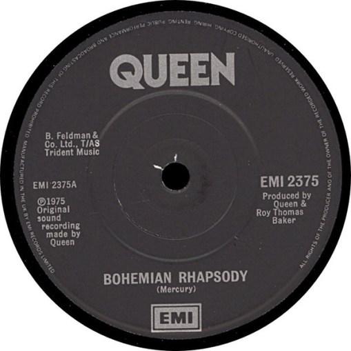 Interior del single de Queen