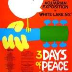 Portada de Woodstock 3 days of piece