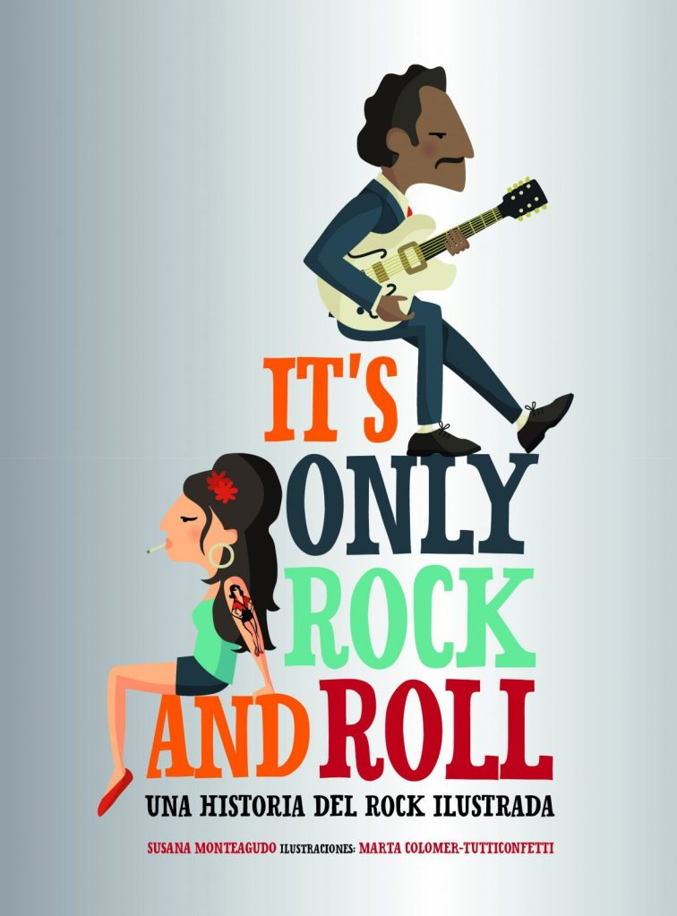Portada libro its only rock and roll