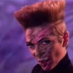 Desireless, cantante de Voyage Voyage, en el vídeo del tema