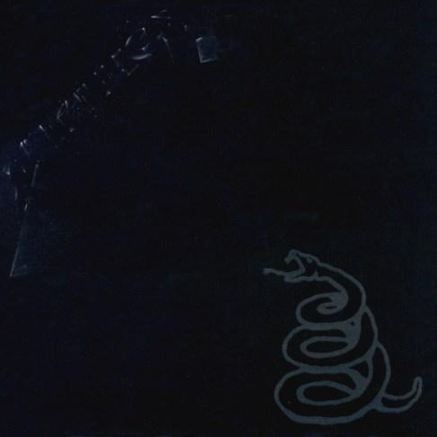 Portada del disco negro de Metallica