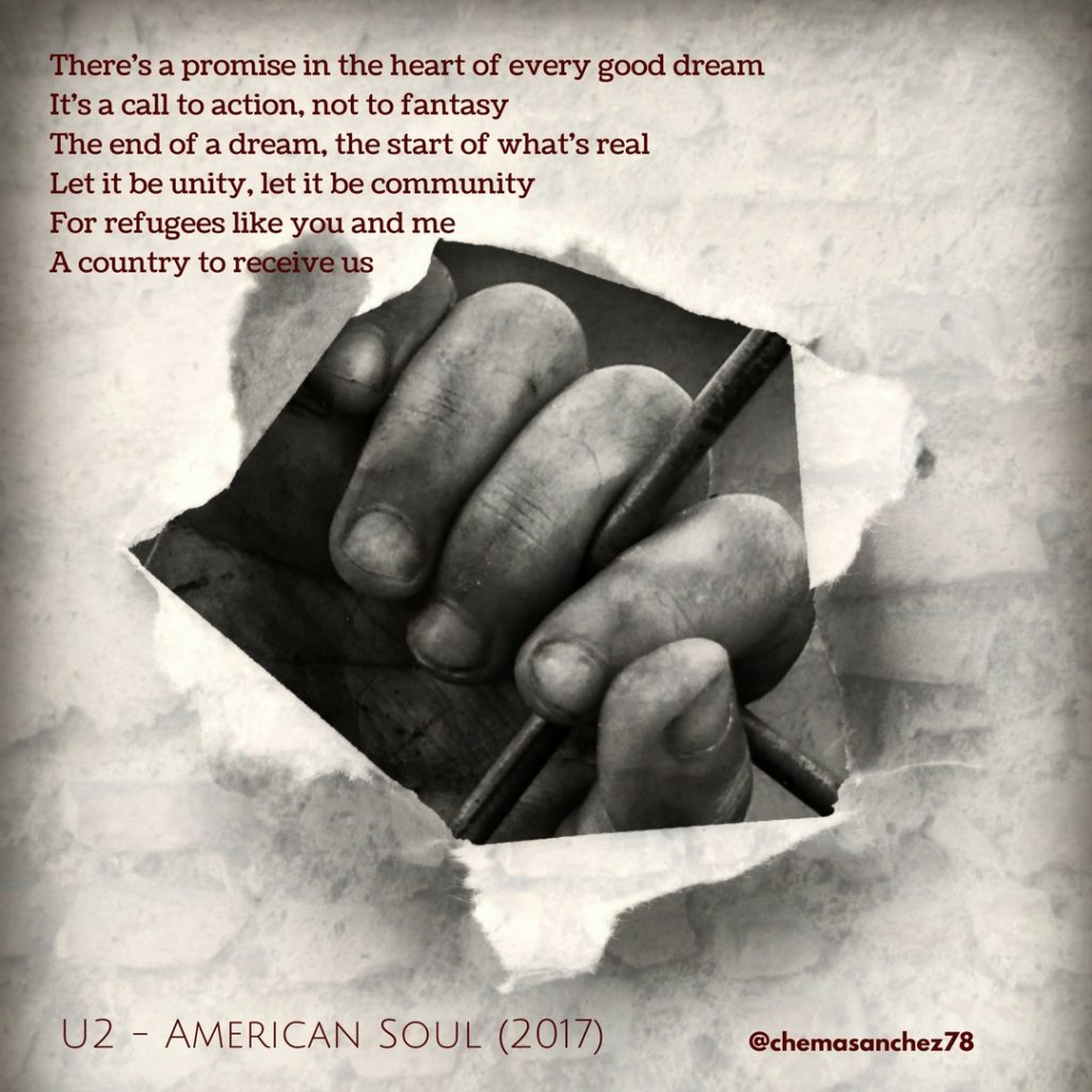 Tip instagram U2 American Soul