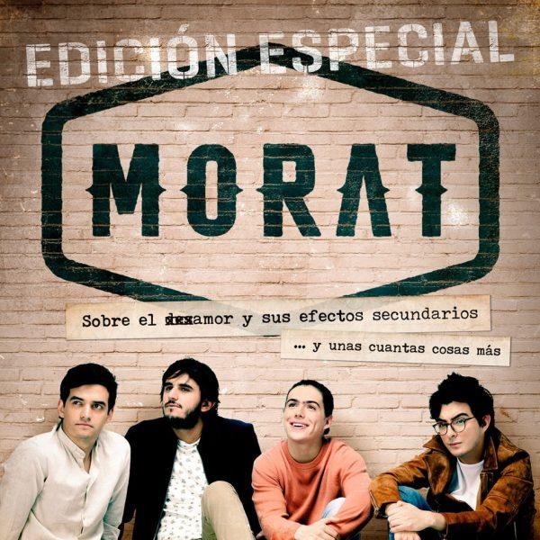 Carátula del primer disco de Morat