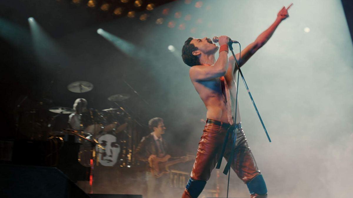 Actuación de Freddie Mercury