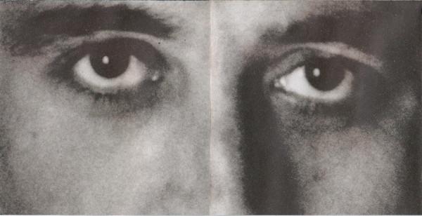 Manolo García, o mejor dicho sus ojos, en el disco Astronomía Razonable