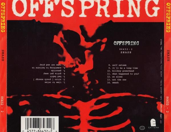 Contraportada de The Offspring Smash
