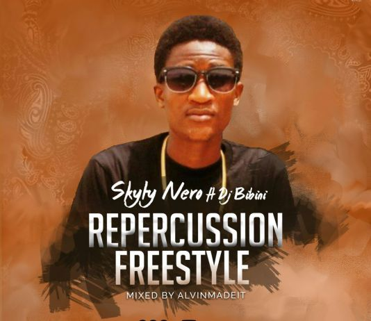 Skyty Nero ft Dj Bibini - Repurcussions Freestyle(Prodby AlvinMadeIt) || musicarenagh.com