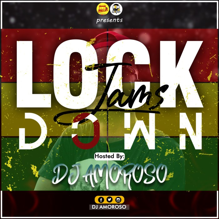 DJ AMOROSO – LOCKDOWN JAMS VOL. 1