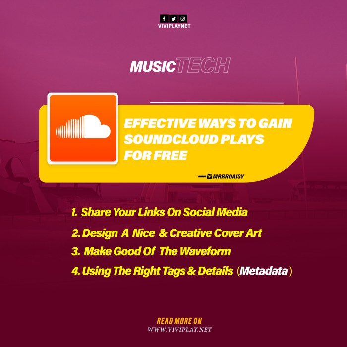Effective Ways to Gain Soundcloud Plays – ViviPlay