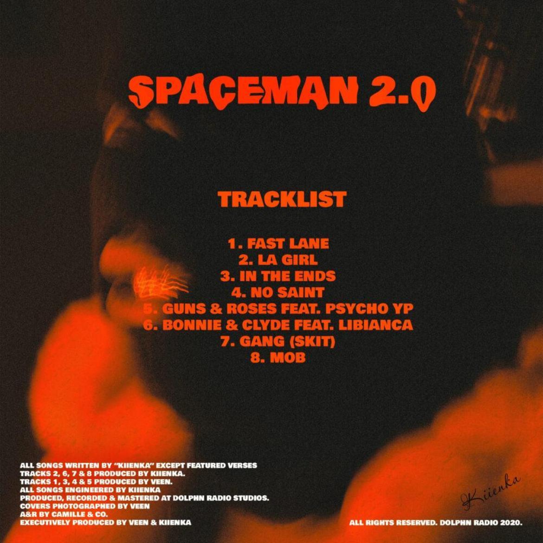 Kiienka - Spaceman 2.O EP