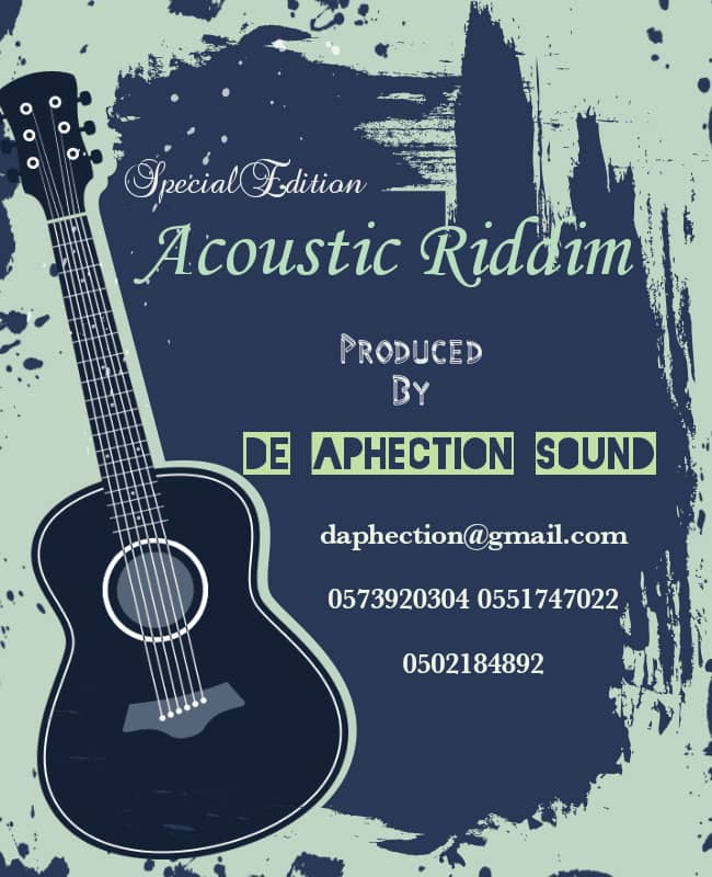 Acoustic Riddim (Prod By DE Aphection Sound)