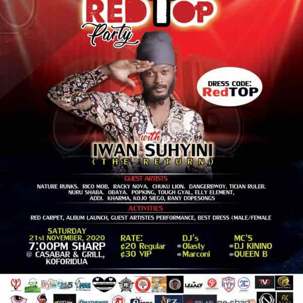 Checkout The List Of Eastern Finest Artistes Supporting Iwan On His Return Album Tour