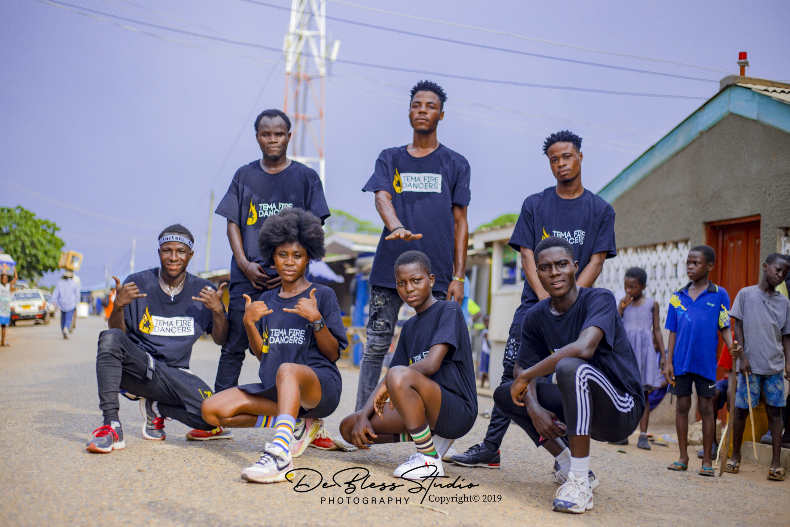 Tema Fire Dancers Adopt Special Choreography For Rapper Eno Barony's Ay3 Ka Song – WATCH VIDEO