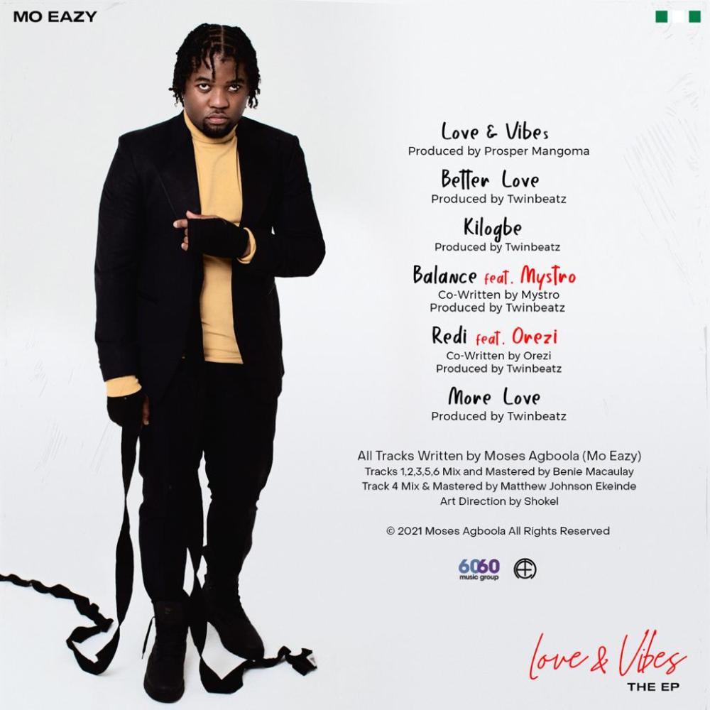 Mo Eazy - Love & Vibes EP