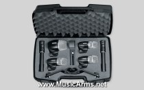Shure PGDMK6-XLR Drum Mic Set 6 pcs