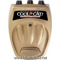 DANELECTRO CTO-2 Cool Cat Transparent Overdrive V2 Guitar Effects Pedal