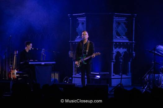 Dave Hause and Tim Hause on stage at Union Chapel