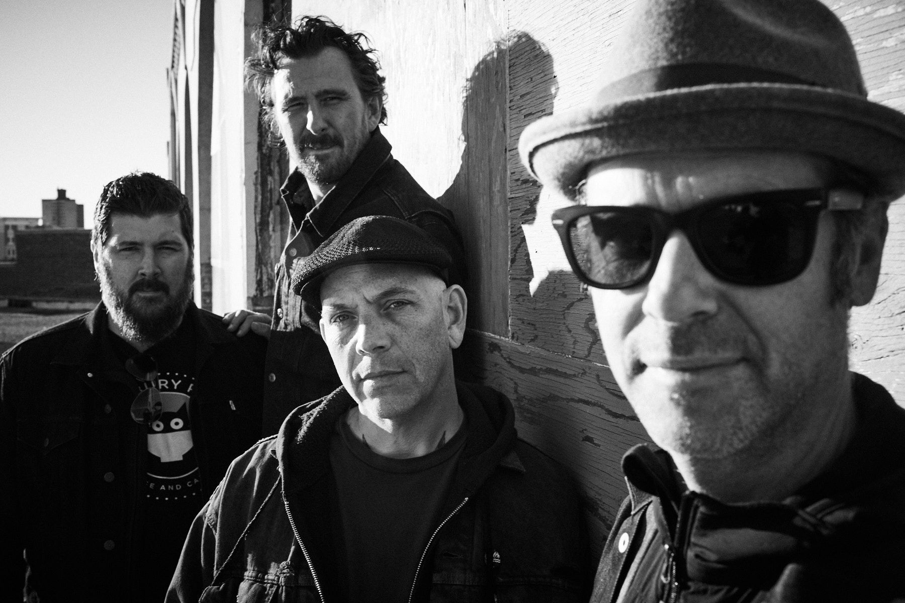 The Bouncing souls 2020 black and white