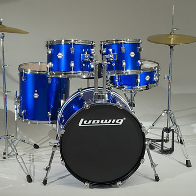 Ludwig Accent Drive in Deep Blue