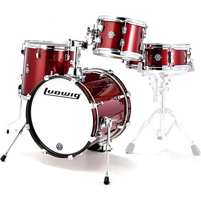 ludwig breakbeats lc179 4 piece drum kit music collection and dance corner canada. Black Bedroom Furniture Sets. Home Design Ideas