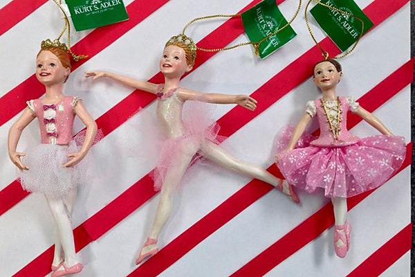 Ballet Christmas Tree Ornaments