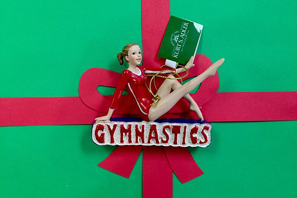 Gymnastics Christmas Tree Ornaments