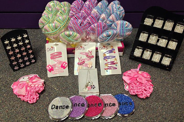 Dance Hair Accessories and Jewelry