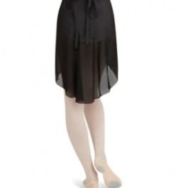 Capezio N276 Georgette Long Wrap Skirt