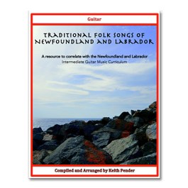 Traditional Folk Songs of Newfoundland and Labrador - Guitar