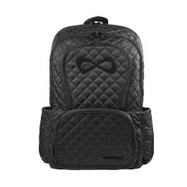 Nfinity Backpack Quilted Black - Black Logo