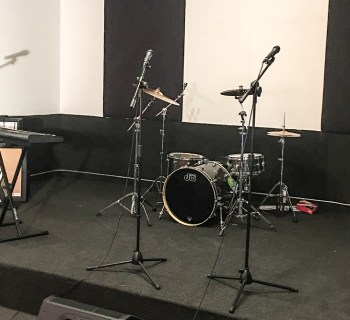 POP Music Studios close up