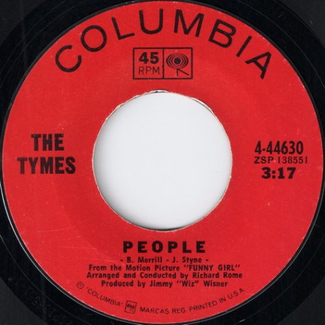 The Tymes – People (Columbia) 7inch