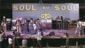 The Staples Singers Onstage With Film Crew 1971