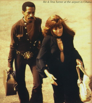 Ike & Tina Turner At The Airport in Ghana 1971