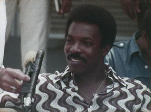 Wilson Pickett at Press Conference 1971
