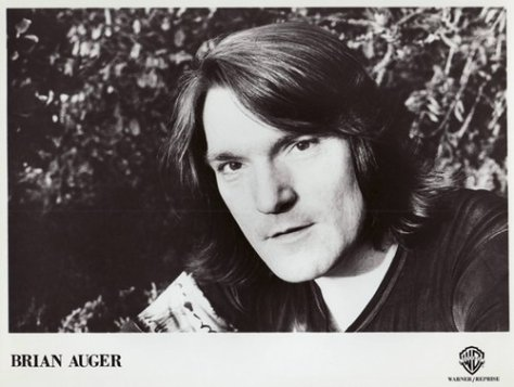 Brian Auger (WB Records 1970s Press Photo)