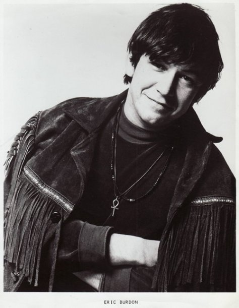 Eric Burdon (1968 Press Photo)