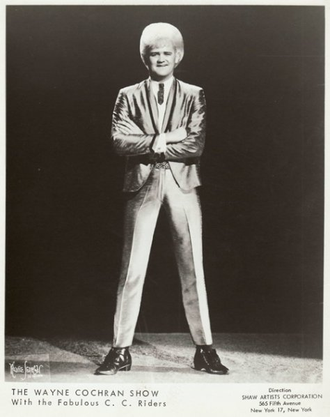 Wayne Cochran 1960's Press Photo