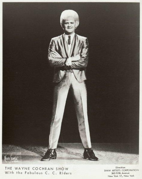 Wayne Cochran 1960's Press Photo