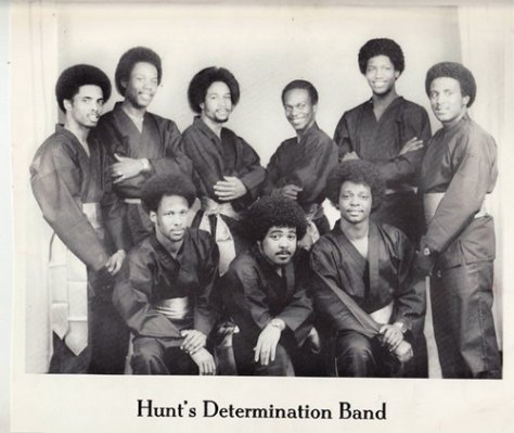 Hunt's Determination Band (1970s Photo)