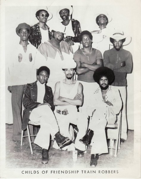 Child Of Friendship - Train Robbers (1973 Funk Band Promo Photo)