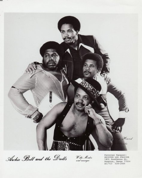 Archie Bell & The Drells - 1970s Press Photo (Houston Texas Funk)