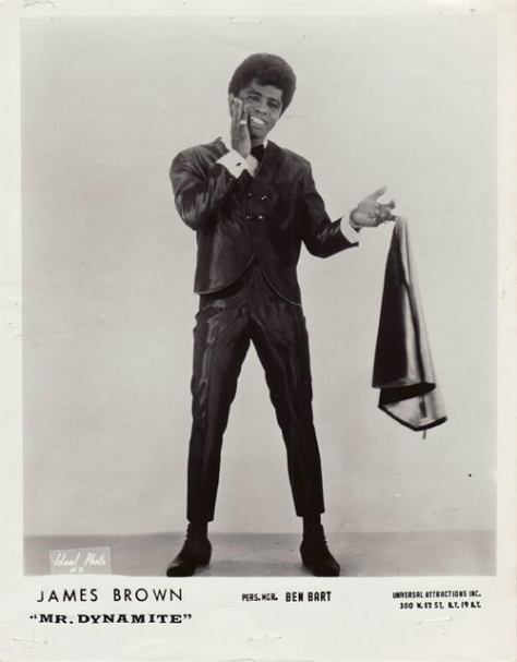mes Brown - MR. DYNAMITE! (1960s Press Photo)
