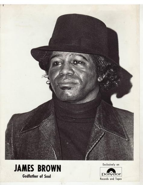 JAMES BROWN GODFATHER OF SOUL (1973 Press Photo)