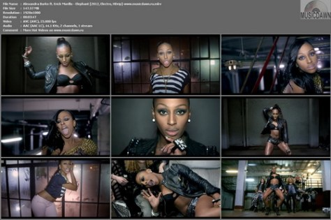 Alexandra Burke ft. Erick Morillo – Elephant [2012, HD 1080p] Music Video