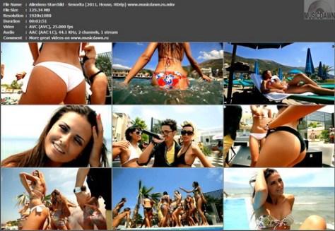 Allexinno & Starchild - Senorita (2011, House, HD 1080p)