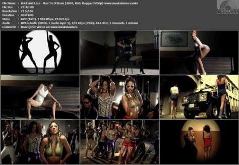 Brick and Lace - Bad To Di Bone (2009, RnB, Ragga, DVDrip)