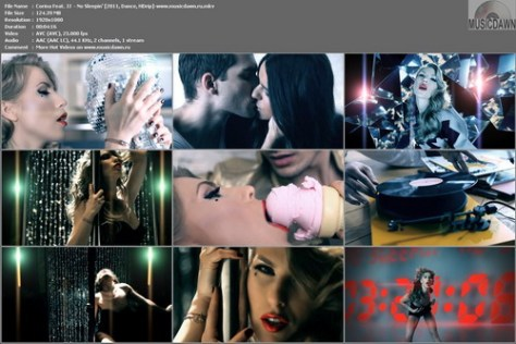 Corina Feat. JJ  - No Sleepin' (2011, Dance, HDrip)