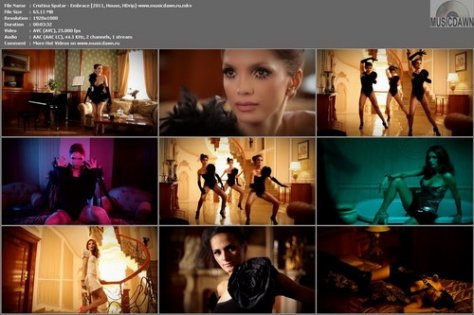 Cristina Spatar – Embrace [2011, HD 1080p] Music Video (Re:Up)