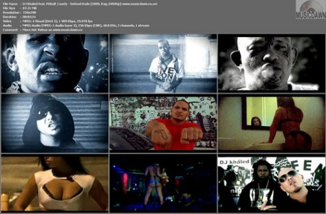 DJ Khaled feat. Pitbull & Casely - Defend Dade (2009, Rap, DVDRip)
